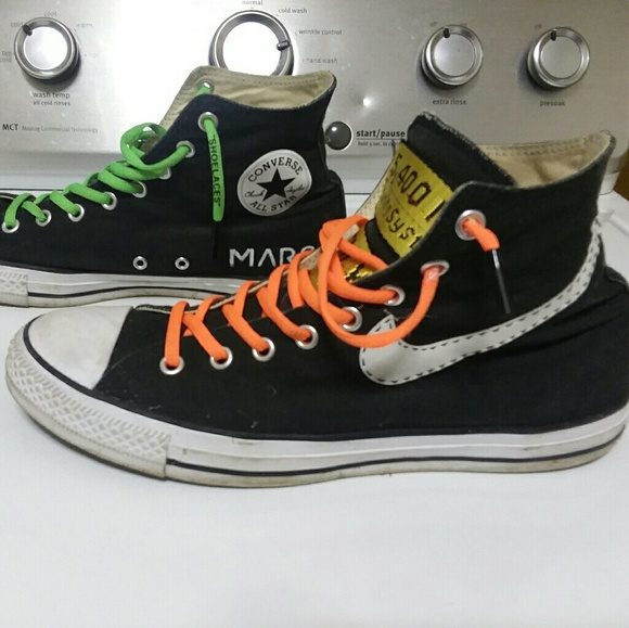 7719d9e8af2 Converse Other - Mens Custom Converse Nike Off White size 10
